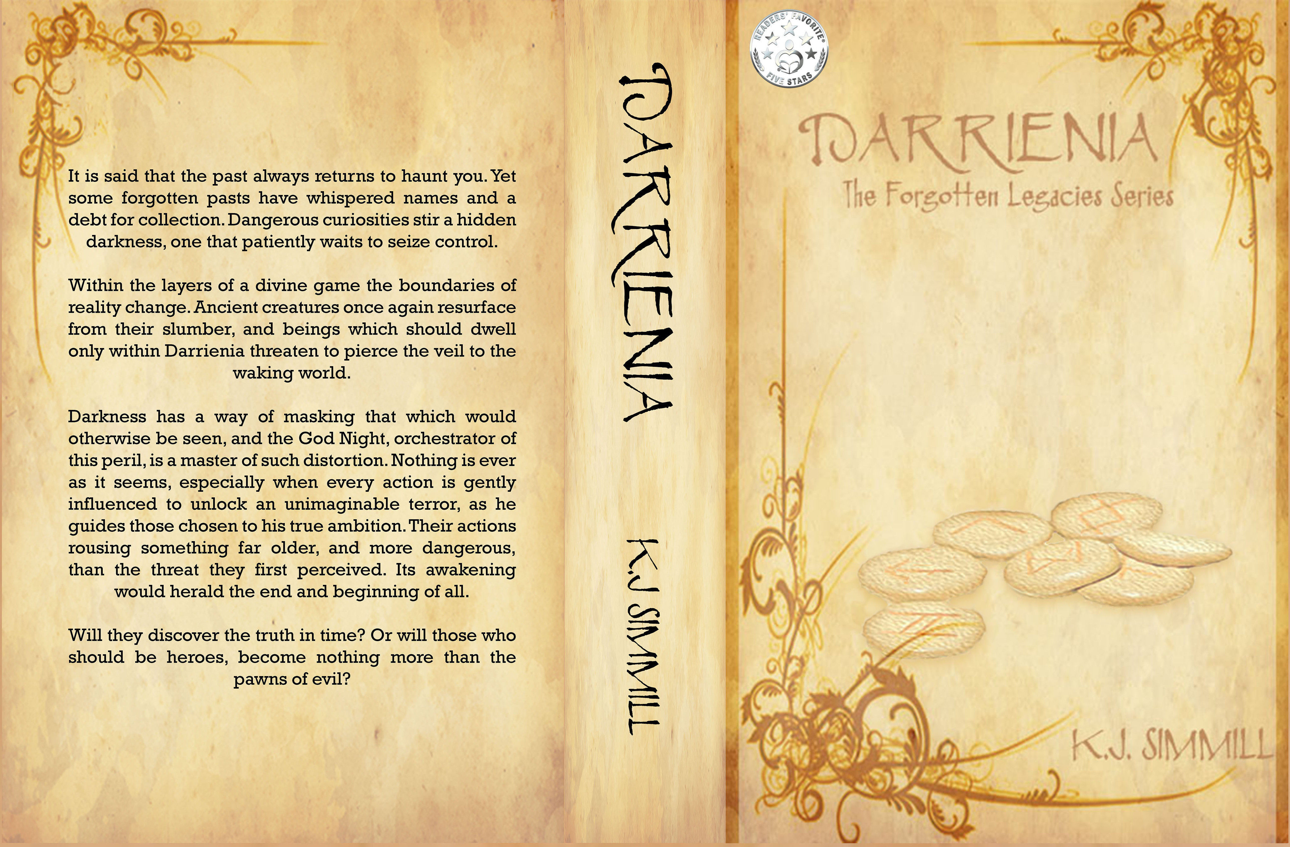 K.J.\'s Books | Darrienia: The Forgotten Legacies Series