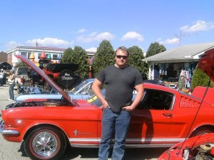 Me with Mustang