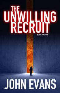 The Unwilling Recruit front cover design