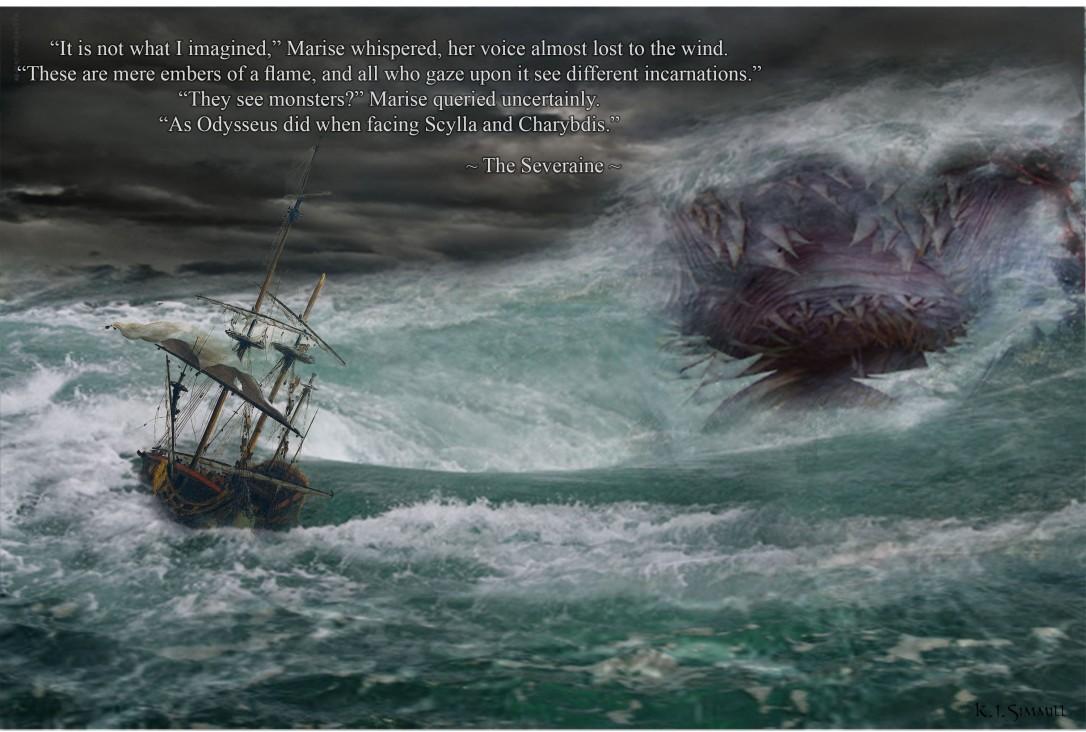 Severain Attacking Ship One